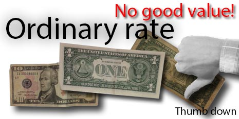 ordinary rate
