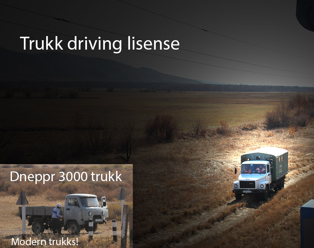 trukk driving license
